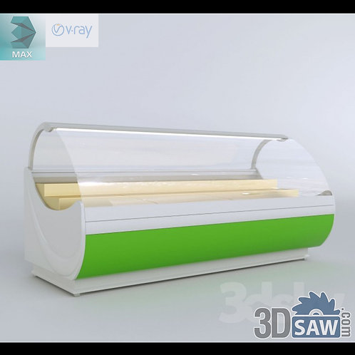 Supermarket Shelf - Food Display Case - MX-860