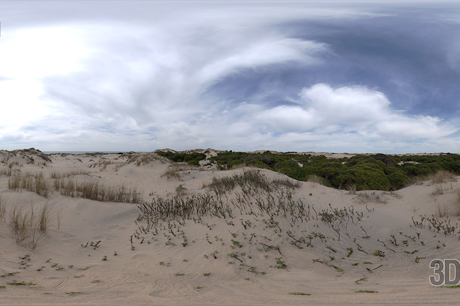 HDRI Sky - Sand Dunes - HDR Image Download Free - HDR-16