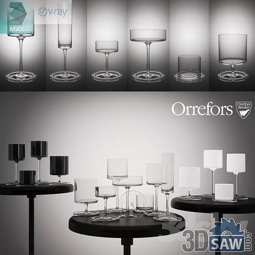 Glass - Champagne Glasses - MX-836