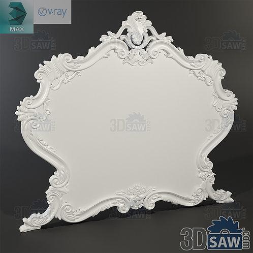 Mirror - Specchiera - Baroque Decor - Vintage Furniture - MX-419