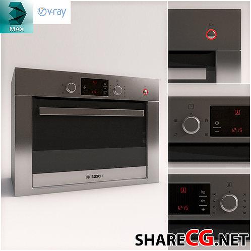 Oven - Microwave - KitchenSet Decor - MX-0000024