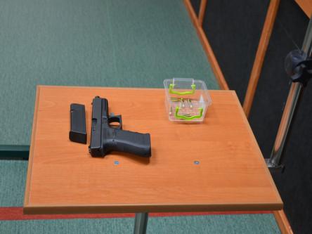 W dniu 3 lutego 2018 roku zapraszamy do wzięcia udziału w szkoleniu strzeleckim - pistolet poziom 1