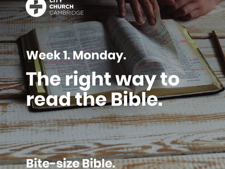 The right way to read the Bible (and how so many of us get it wrong)
