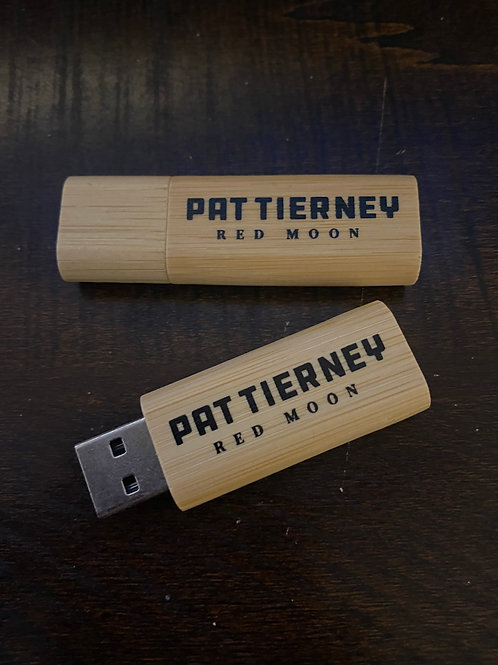 4GB Bamboo USB Album (Entire Catalogue - 22 songs)