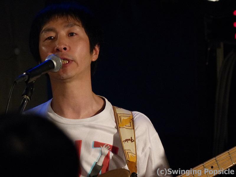 我らがリーダー平田さん。この日はポプシ以外にも4バンドで出演!タフなリーダー!