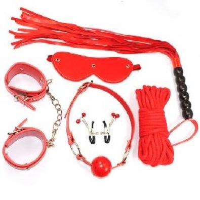 6 PC Red SM Kit