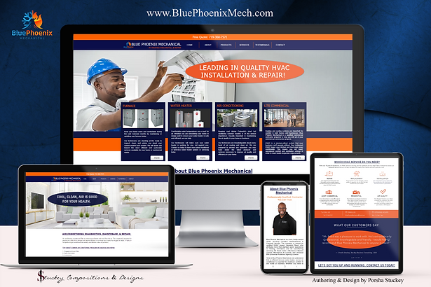 Blue Phoenix Mech - Website Scene Settin