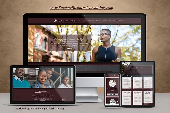 Stuckey Consulting - Website Scene Setti