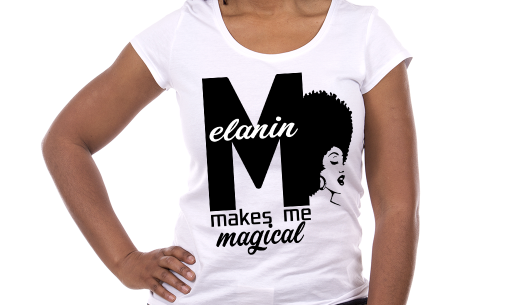 """Melanin Makes Me Magical"" Tee"