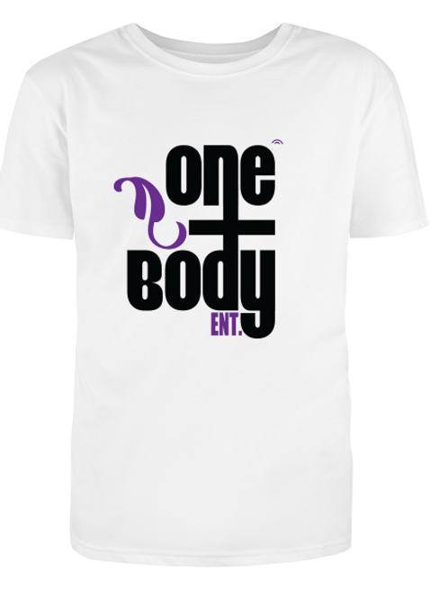 copy of copy of One Body Ent. - Unisex Tee - White