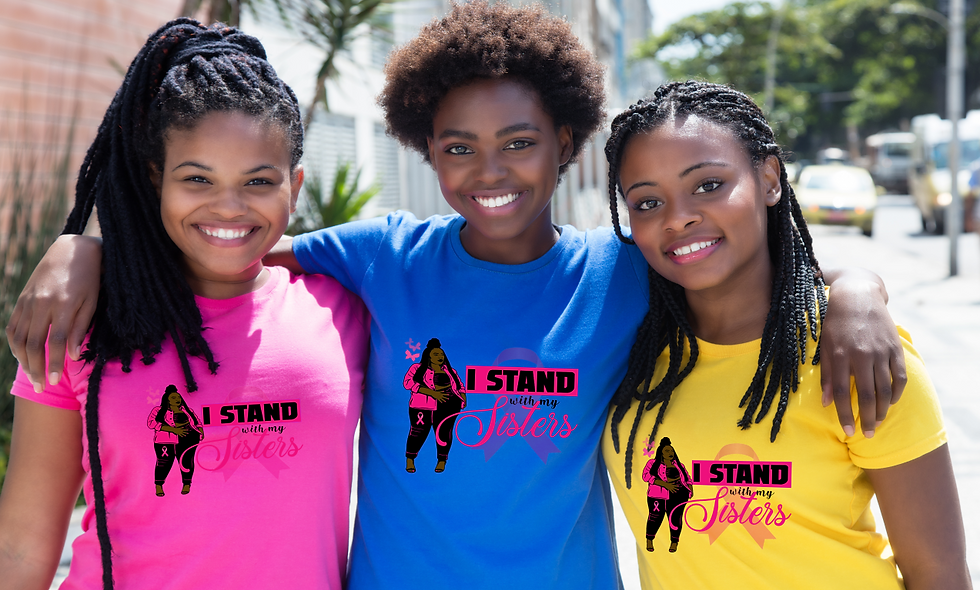 """""""I stand with my sisters."""" - BC Survivor Tee"""