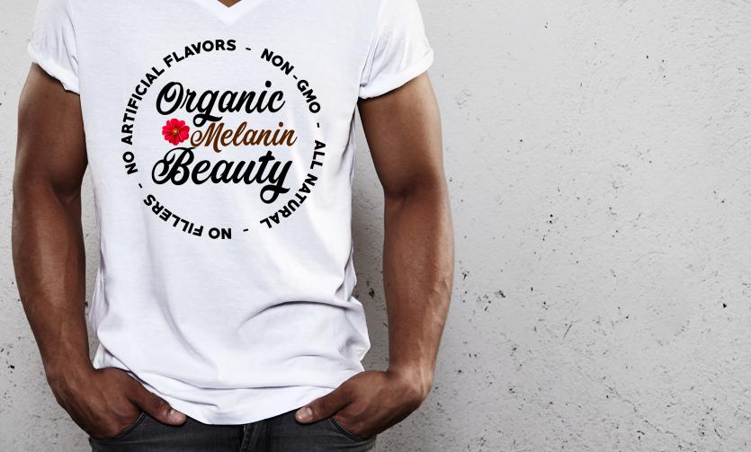 Organic Beauty - Black Power Tee