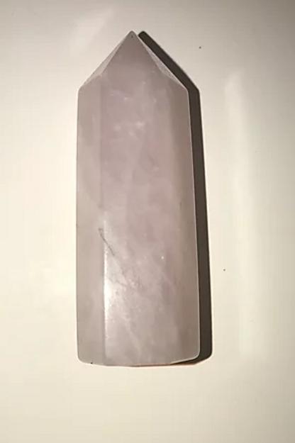 Rose Quartz Crystal Wand