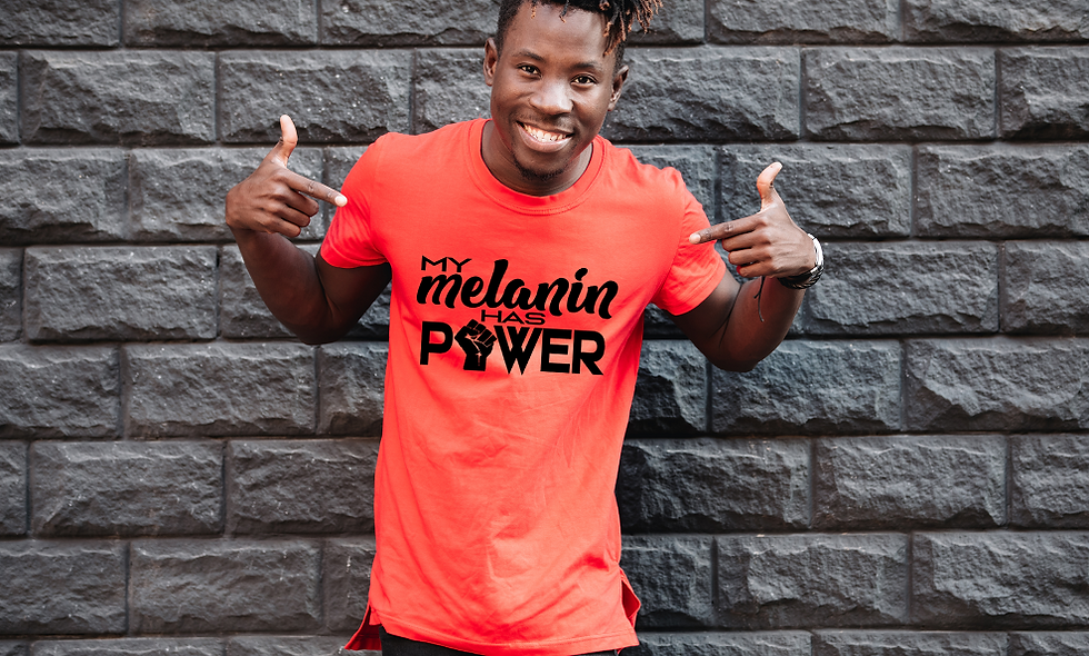 """My Melanin Has Power"" - Black Power Tee"