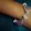 Thumbnail: Amethyst Crystal Bracelet - Style 3