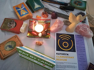 Psychic Table Kathryn Valdal Saleem Halo