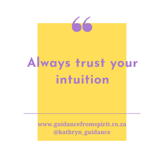Always Follow Your Intuition