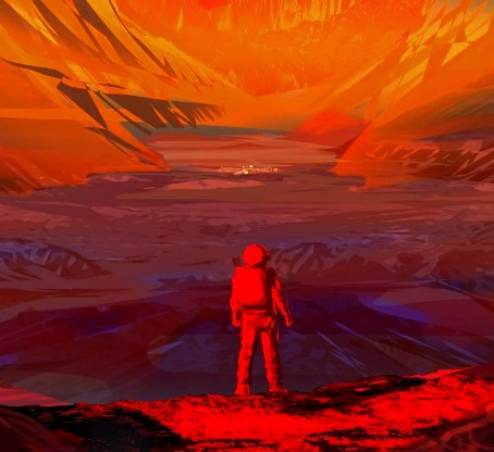 Living on the red planet