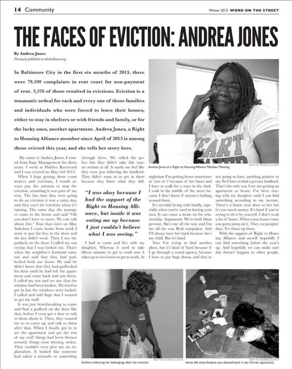 Word on the Street Newspaper Spread 2