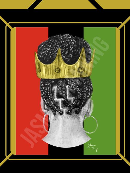 Pan African Queen Print