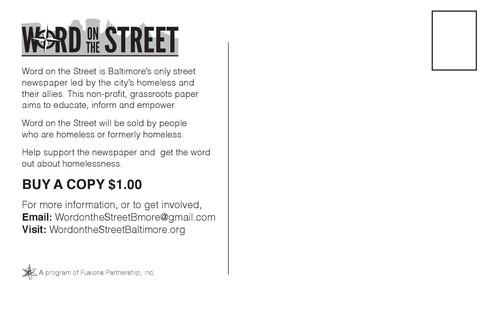 Word on the Street Postcard