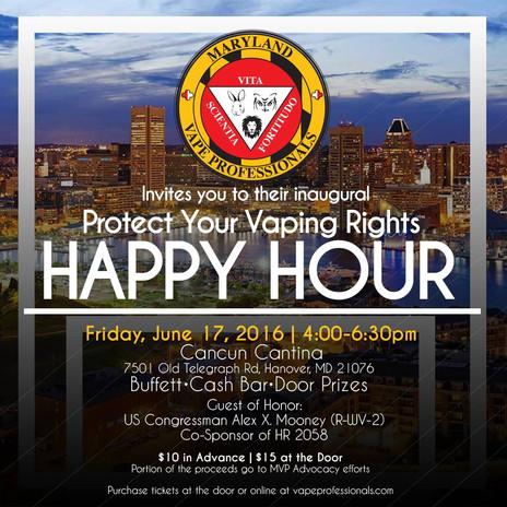 MVP Happy Hour Flyer
