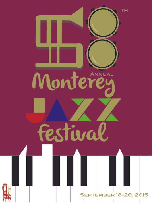58th Monterey Jazz Festival Mockup Flyer