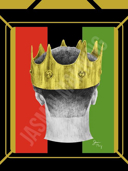 Pan African King Print