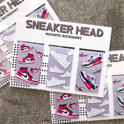 """SneakerHead"" - Magnetic Bookmarks (3-pack)"