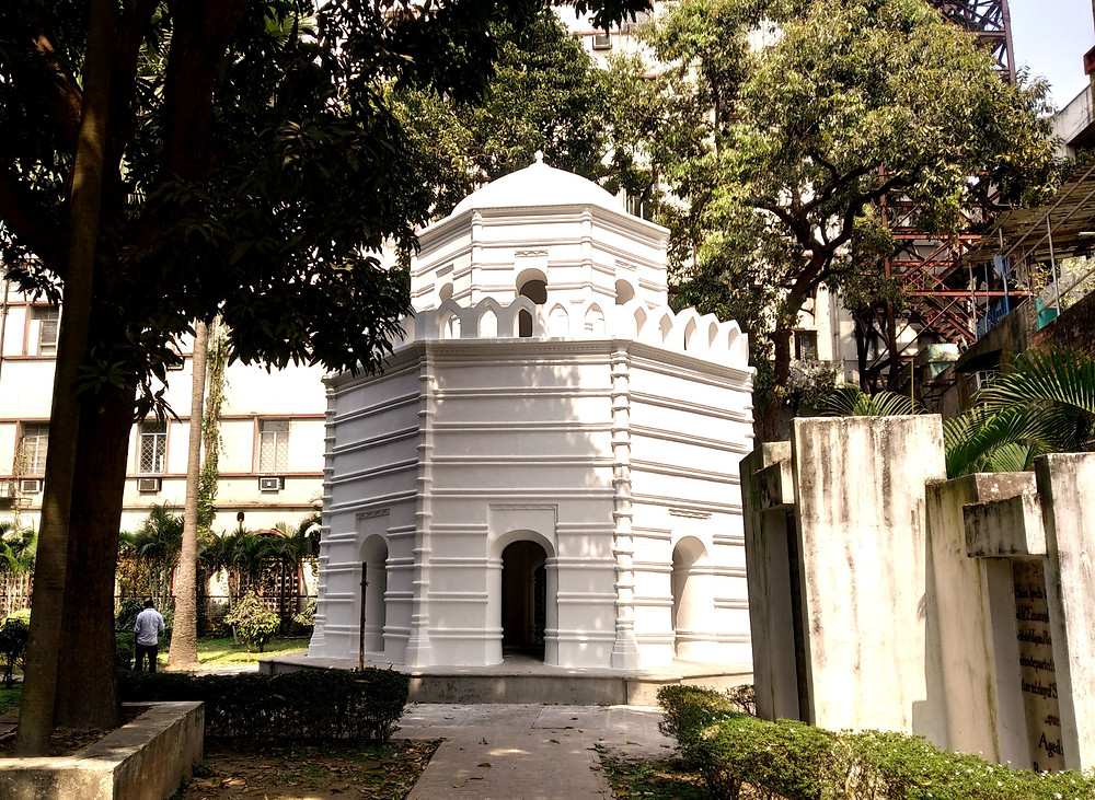 Job Charnock's Mausoleum at St John's Church, Kolkata. Photo Copyright: Shreya Teresita