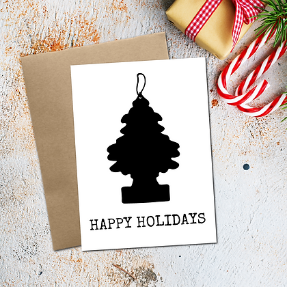 """Happy Holidays"" - Greeting Card"