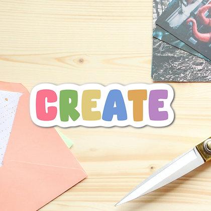 """Create"" - Sticker"