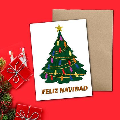 """Feliz Navidad"" - Greeting Card"