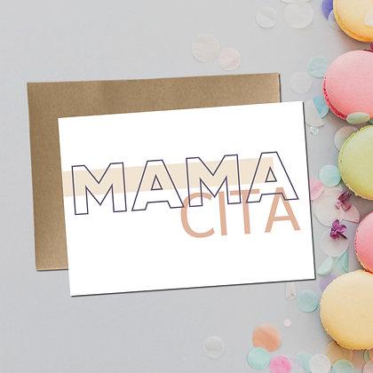 """Mamacita"" - Greeting Card"