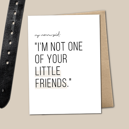 """""""My Momma Said..."""" - Greeting Cards (various)"""