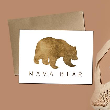 """Mama Bear"" - Greeting Card"