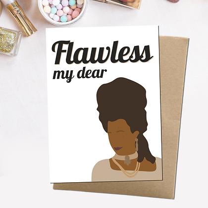 """Flawless"" - Greeting Card Inspired By Bidgerton"