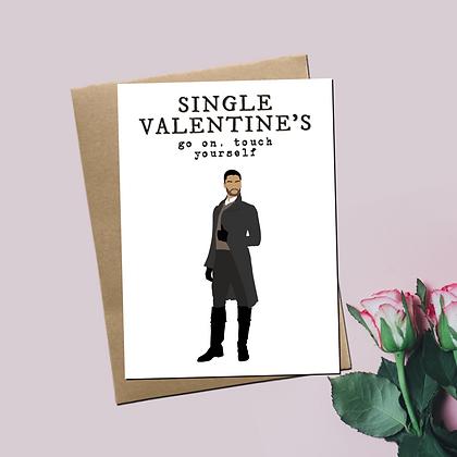 """Single Valentine's"" - Greeting Card Inspired By Bridgerton"