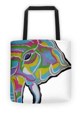 Psycho Elephant Tote