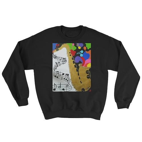 Jazzy sweater