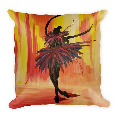 Pink Ballerina Pillow