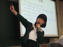 慶應授業風景