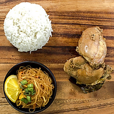 Chicken Adobo Plate