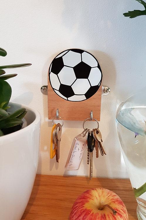 "Football key hook by ""Florence Ferne"""
