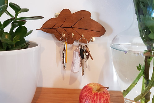 Oak-leaf key holder by 'Florence Ferne'
