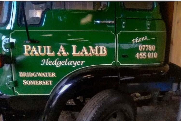 Paul Lamb close up