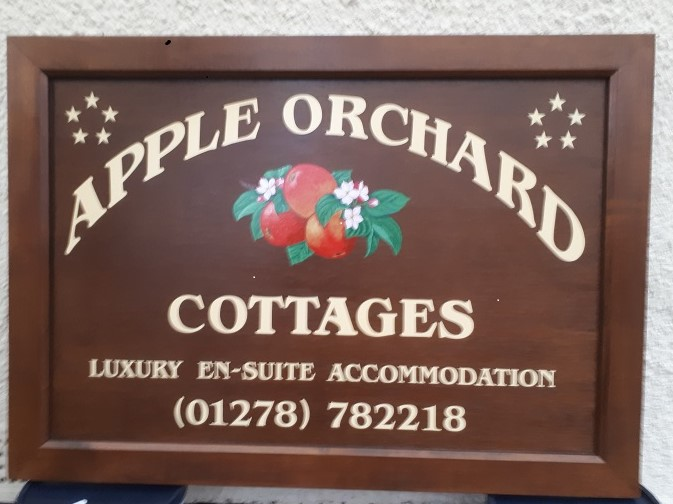 Apple orchard cottages