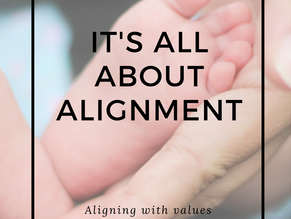 IT'S ALL ABOUT ALIGNMENT