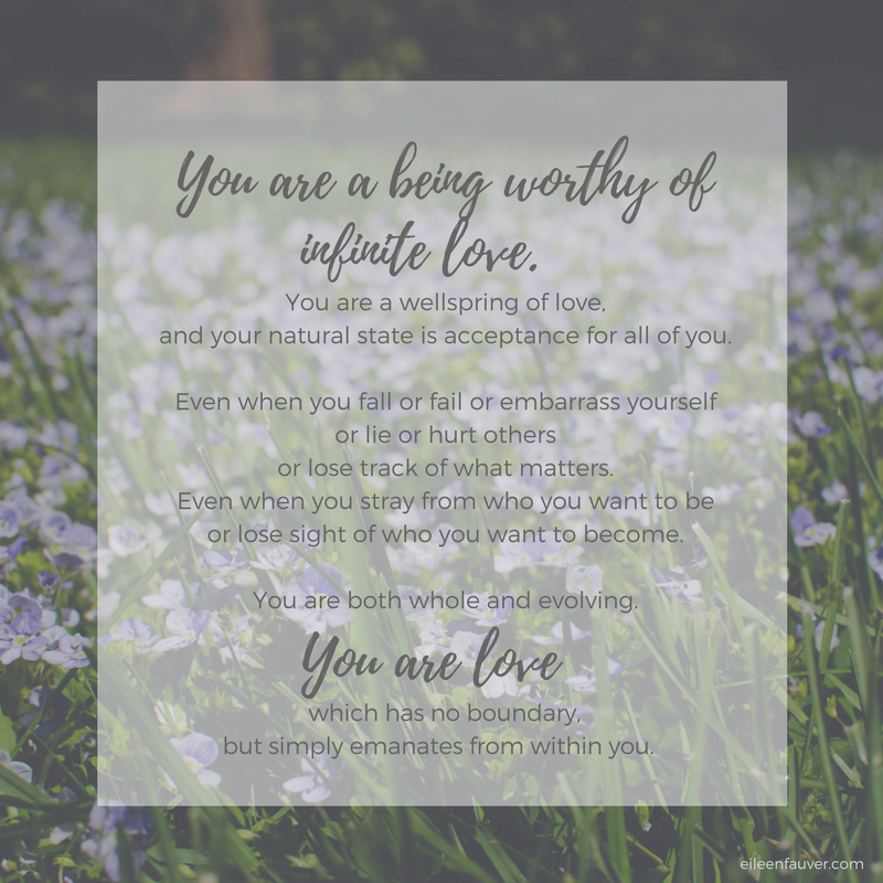 you are worthy of love, reminder for my daughter, parents love