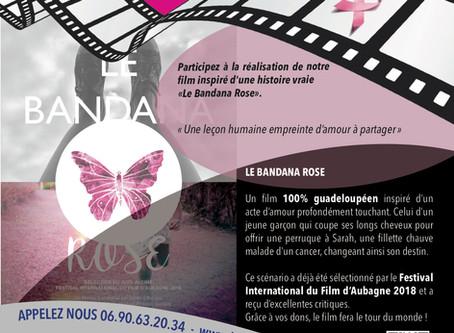 Lancement de la campagne de financement participatif de notre film Le bandana rose.